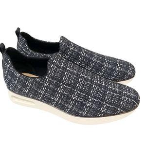 Karl Lagerfeld Women's Camden Plaid Flatform Shoes